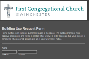 Building Use Request Form